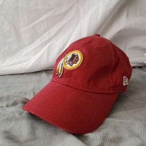 Women's Washington Redskins adjustable hat